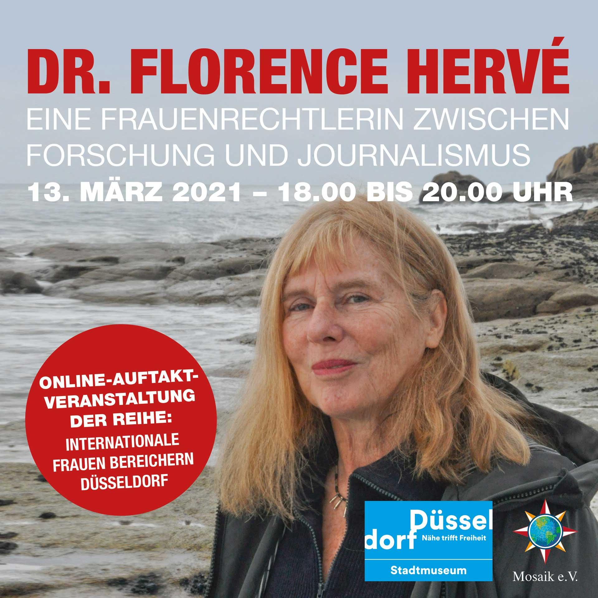 Starke Frauen, in Düsseldorf und anderswo: Vortrag von