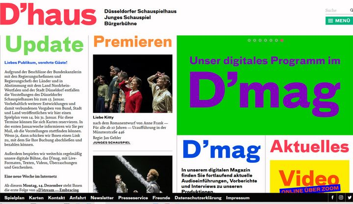 D'Haus Website Screenshot